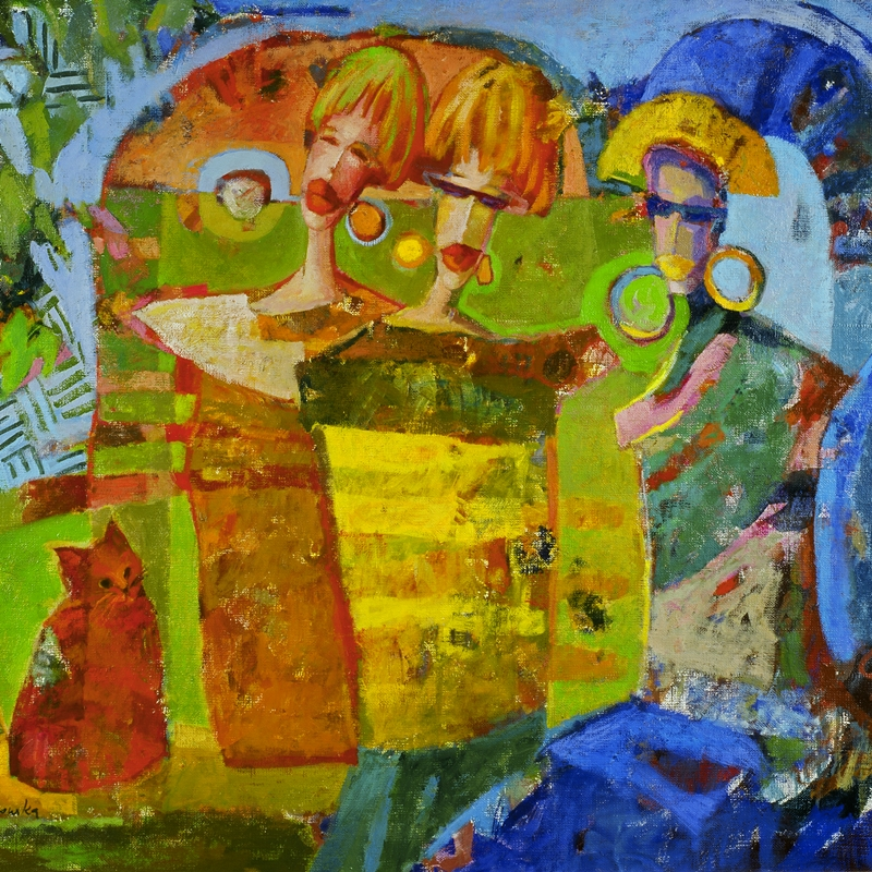 Akcja Sztuki > Kobiety, karta pocztowa, proj. Beata Wąsowska