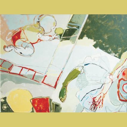 Akcja Sztuki > Kobiety, karta pocztowa, proj. Ewa Matras